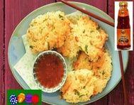Rýžové placky po asijsku s omáčkou