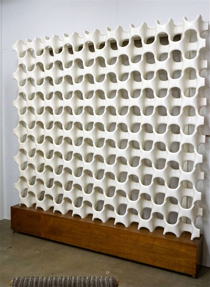 Architectural Screen or Room Divider by Don Harvey | From a unique collection of antique and modern architectural elements at https://www.1stdibs.com/furniture/building-garden/architectural-elements/