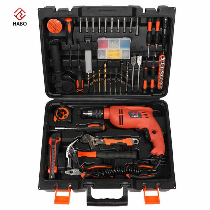 (130.00$)  Buy here - http://aiclk.worlditems.win/all/product.php?id=32796504068 - Multi - functional combination of electric screwdriver impact drill toolbox sets of hardware home appliances toolbox