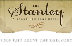 The Stanley Hotel - We were so blessed to be able to get married here in 2010 ♥ Such a beautiful setting!