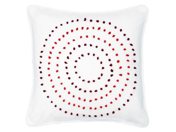 How to Create a French Knot Design on a Pillow : Decorating : Home & Garden Television