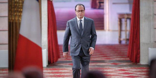 Lors de sa sixième conférence de presse semestrielle, le président a notamment annoncé que des vols de reconnaissance seraient organisés au-dessus de la Syrie.