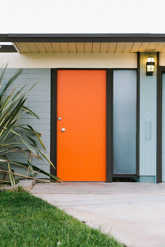 Mid Century Modern Interior Doors 530 best mcm doors & entryways images on pinterest | front doors