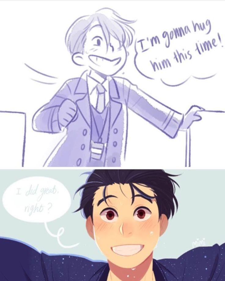 Cooking Papa Kiss Manga: 251 Best Images About Yuri!!! On Ice On Pinterest
