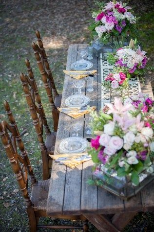 Rustic Floral Styled Bridal Shoot | Two Bright Lights