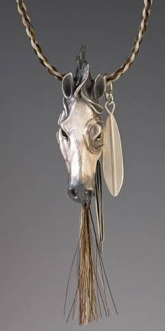 Animal Totem Jewelry :: Native American Horse :: Brookestone Jewelry