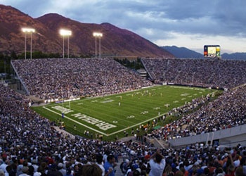 Few things on this planet compare to watching a BYU game at LaVell Edwards Stadium!