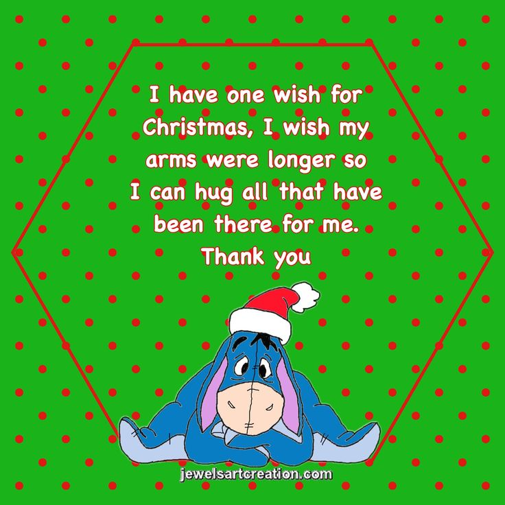 Disney Quotes For Christmas Cards: Christmas Quotes, Thank You, Eeyore, Cute Christmas