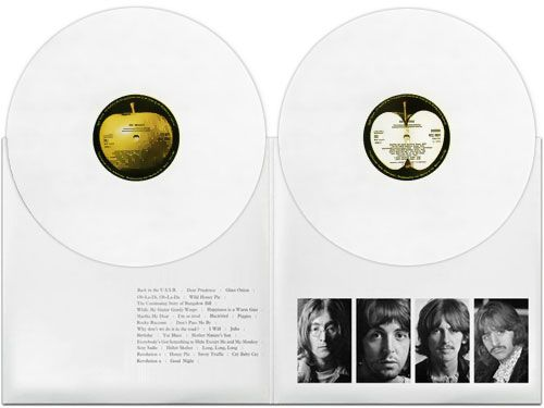 Rare 1968 Apple Records white vinyl issue