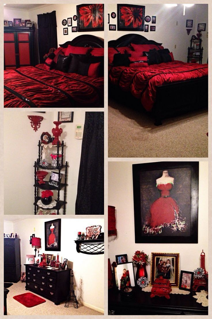 Red Black And Silver Bedroom Ideas Design Corral