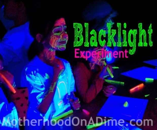 Heck, why not go all out and make it a blacklight party?