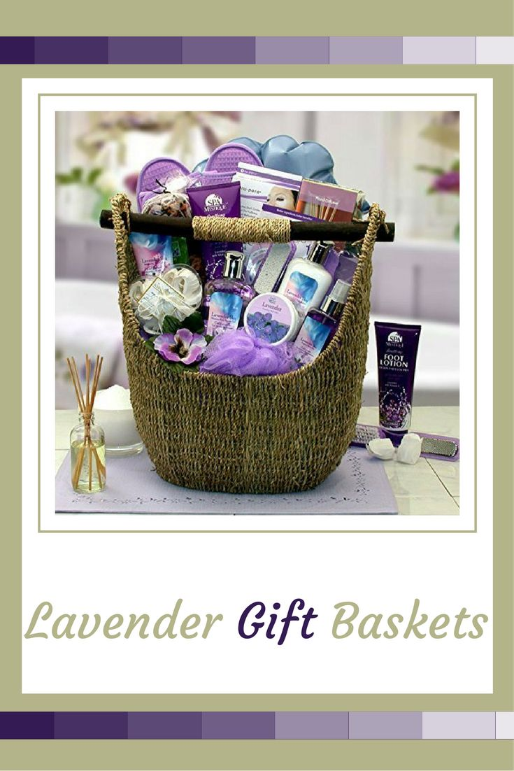 This lavender Spa gift basket comes with full-sized products.  Unlike many of the other lavender gift baskets these are really luxurious, especially the lotions, aroma therapy and soaps.   Lavender gift baskets are a fantastic way of showing thoughtfulness, love and joy. In fact if you want to convey to someone they are special lavender gift baskets are the perfect choice. Due to the fact we all love to feel adored, loved and pampered. Lavender Gift Baskets La  Lavender Spa Gift Basket