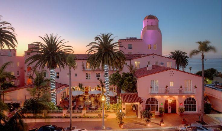 Beautiful La Valencia - La Jolla, California - Where I got married!!