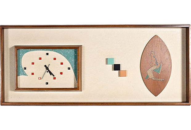Midcentury Clock on OneKingsLane.com
