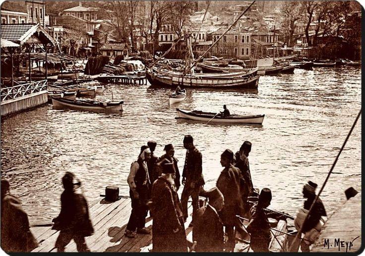 Beykoz - (1906 - 1907) çok güzel bu resmi çeken olmak isterdim