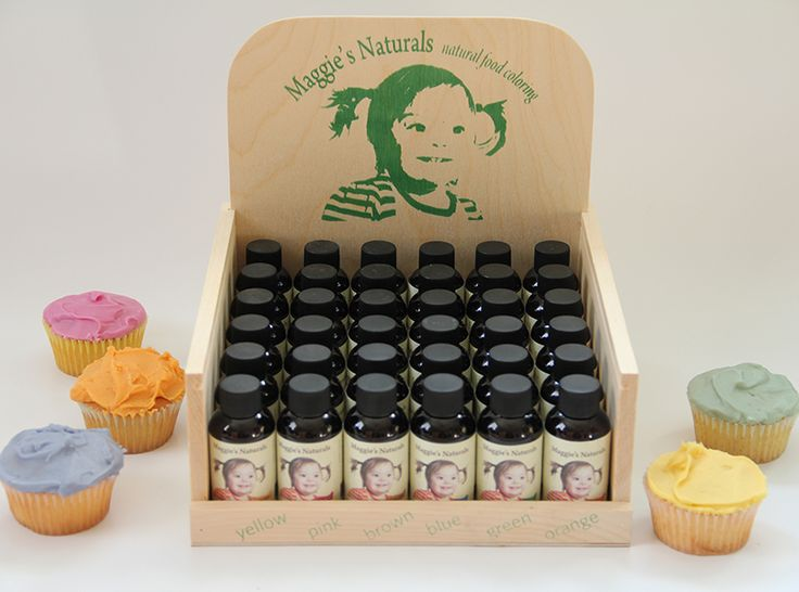 www.maggiesnaturals.com ~ all natural food coloring made from ...
