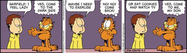 Garfield for 4/7/2014 | Garfield | Comics | ArcaMax Publishing
