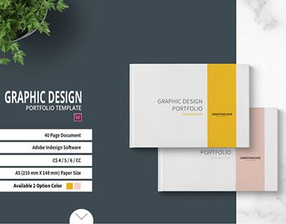 "Check out new work on my @Behance portfolio: ""Graphic Design Portfolio Template"" http://be.net/gallery/51865251/Graphic-Design-Portfolio-Template"