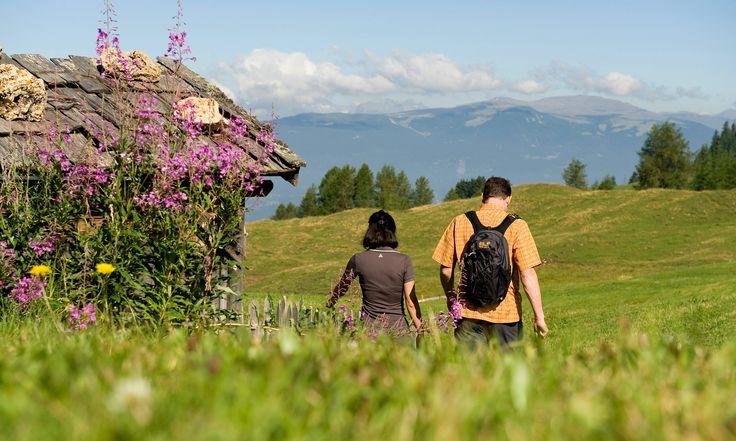 Zur Ruhe kommen und die Seele baumeln lassen können Sie am besten in der weiten Naturlandschaft des Vinschgaus.