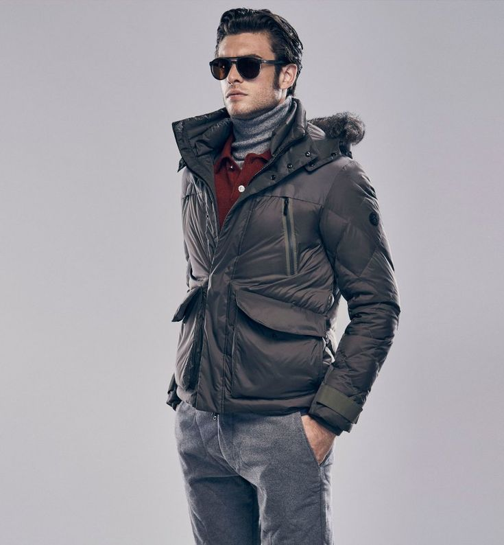 Gaspard bundles up from Massimo Dutti's 2015 Après Ski collection.