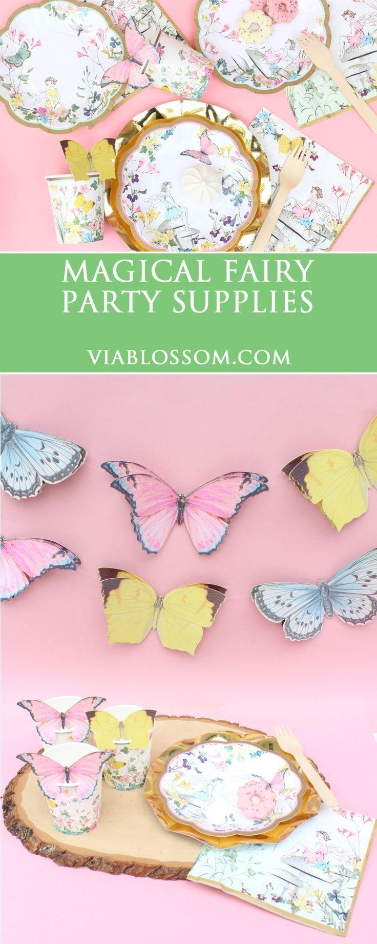 Fairy Birthday Party Decorations 17 Best Ideas About Fairy Birthday Party On Pinterest Fairy