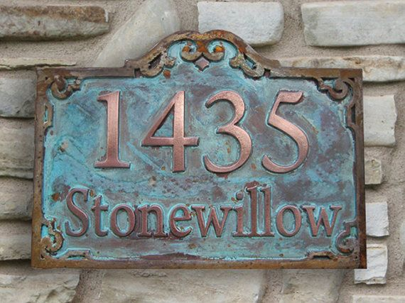 Famous 17 best ceramic house Numbers images on Pinterest | Ceramic house  HH72