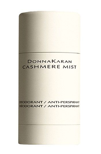 Donna Karen Cashmere Mist Deodorant. The best investment for your underarms. I didn't believe it until I tried it and it works wonderfully.