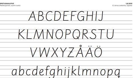 Kaunokirjoitus jää historiaan – Tässä uudet kirjaimet