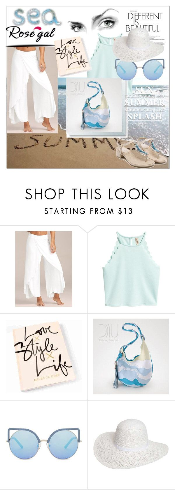 """""""ROSEGAL"""" by nelly-melachrinos ❤ liked on Polyvore featuring Matthew Williamson and Dorothy Perkins"""