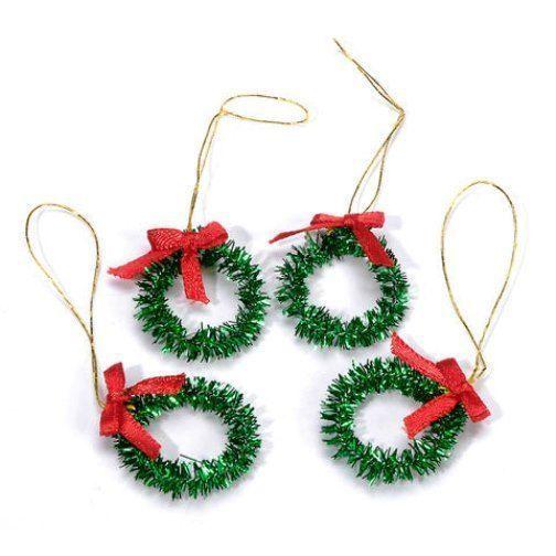 Miniature Christmas Wreaths