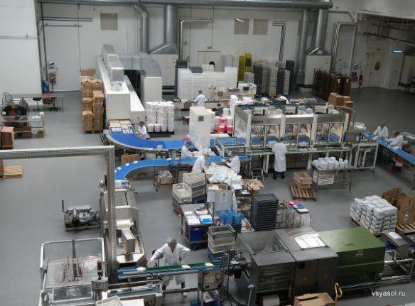 На фабрике Король Рене