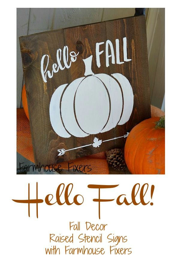 Super Cute Fall Signs Im Ready For Fall Décor