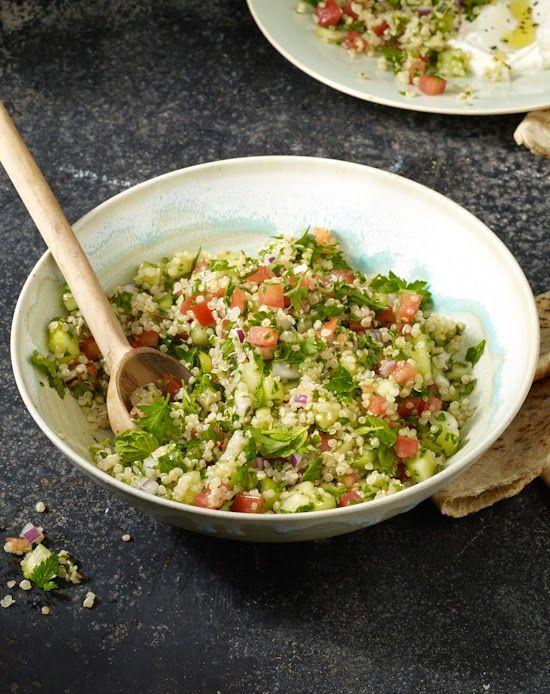 Quinoa Tabbouleh (exclusive recipe from the Skinnytaste Cookbook)
