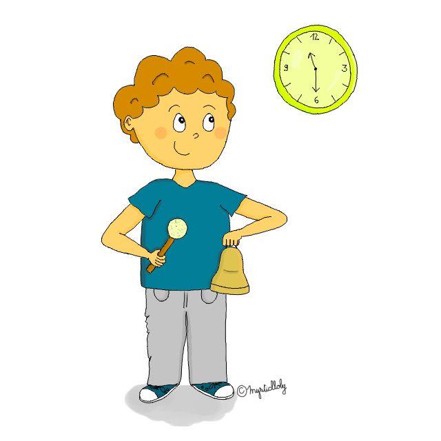 Dessin - Maître du temps - Journal de bord d'une instit' débutante