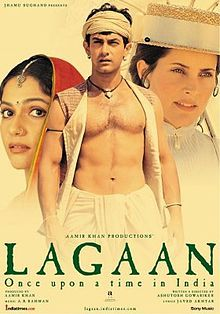 Lagaan - epic sports drama set in the Victorian period of India's colonial British Raj; about peasants from a barren village who are oppressed by high taxes & attempt to persuade the British officers to reduce the taxes, instead, a wager is offered: If their village team beats a British team in a game of cricket, their taxes for three years would be cancelled.