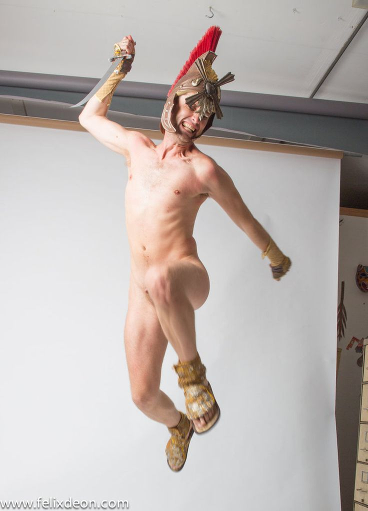 Geil Naked fighting pose love and