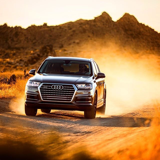 At home in the wild. #AudiQ7