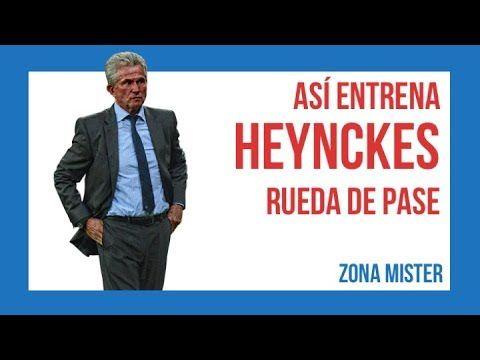 ⚽️ ASI ENTRENA HEYNCKES (Rueda de pases de cara) | Ejercicios futbol - YouTube