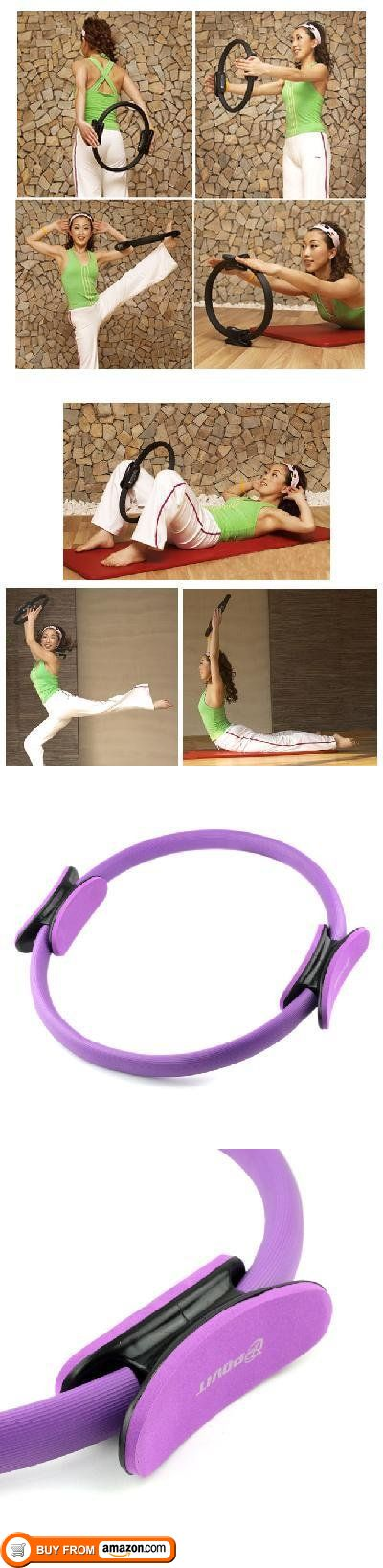 Pilate Ring Pilates Magic Fitness Circle Yoga New, Features: Rings are commonly used in Pilates to add intensity to floor exercises. The ring's resistance speeds up toning by targeting specific muscles. Especially useful in problem areas like the inne..., #Sporting Goods, #Fitness Circles, $14.87