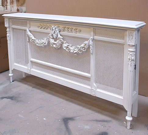 Chateau white Radiator Cover