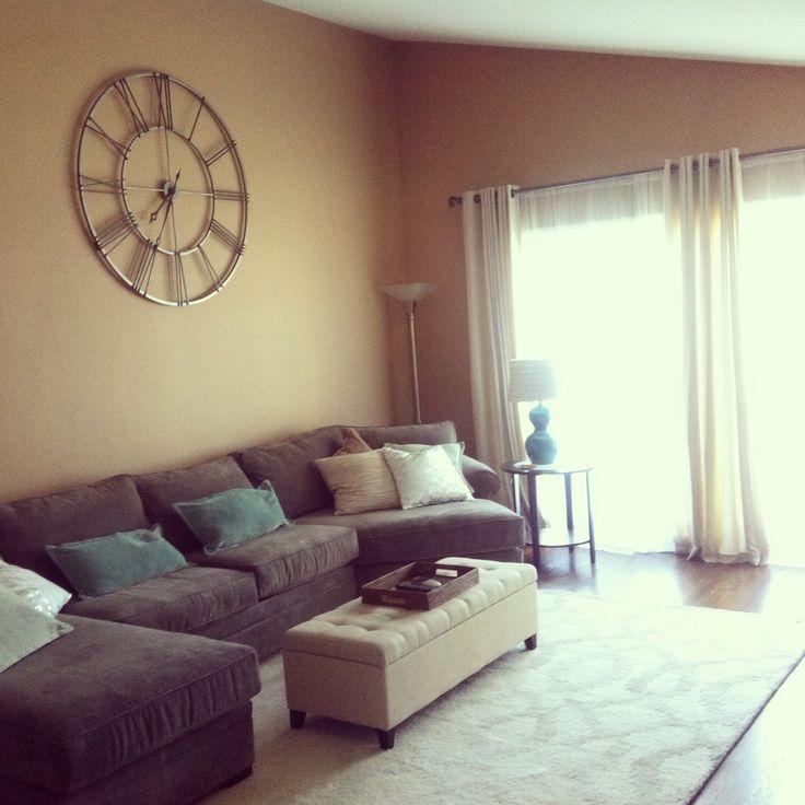 44+ Living room wall clock ideas