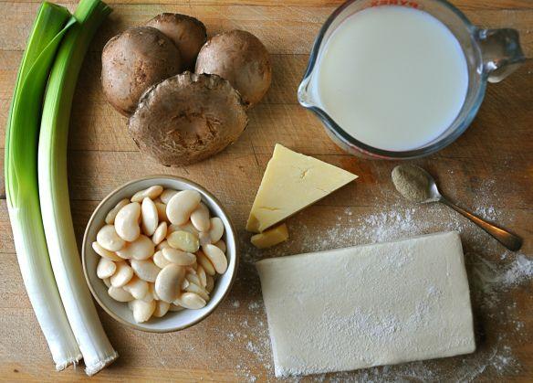 Little Leek, Butterbean and Mushroom Pies