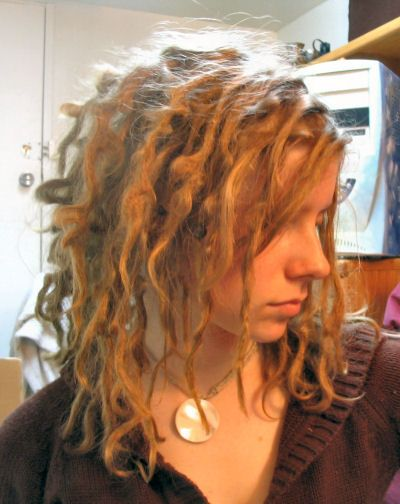 Good article about dreads & 12-month timeline. (This is the 2-month photo.)