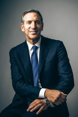 "Starbucks CEO, Howard Schultz, said that, in the past, ""growth covered up a lot of..."
