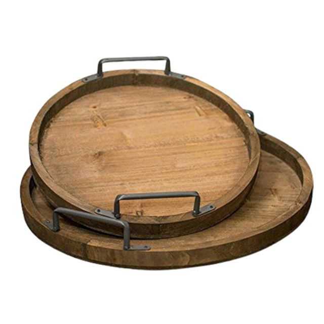 39++ Wooden serving tray with handles info