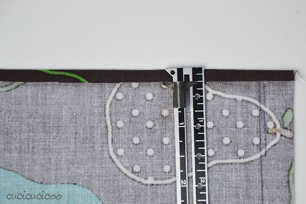 Learn to Machine Sew, Lesson #7: How to Sew a Perfect Hem. Learn an easy trick to make your hems perfectly even!