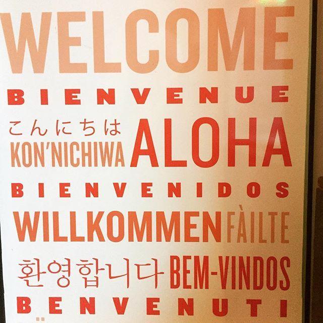 How ever you say it...... we're happy to welcome you here! #samesunbackpackers #oneearthsamesun