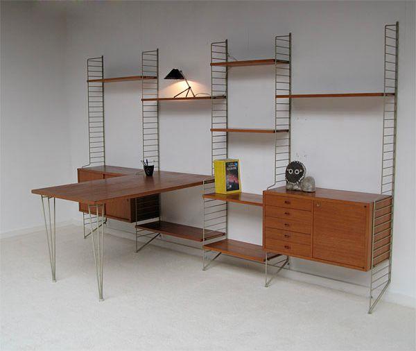 Fancy - String Shelf System | Nisse Strinning
