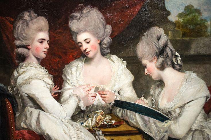Sir Joshua Reynolds | The Ladies Waldegrave | 1780 #resim