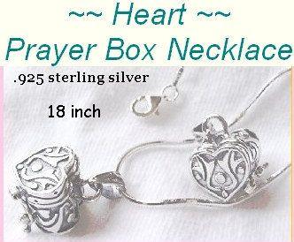Heart Prayer Box Necklace Sterling Silver https://www.etsy.com/listing/116410996/heart-prayer-box-necklace-sterling
